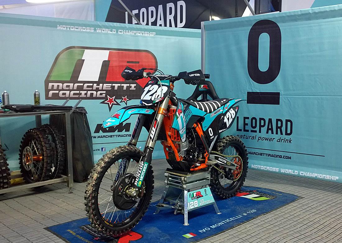 Favori KTM Marchetti Racing con Leopard Natural Power Drink - XInsideMagazine ZZ53